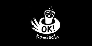 OK! Kombucha product displayed for The Greater Goods food consulting and sourcing success story