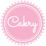a logo for the company Cakery
